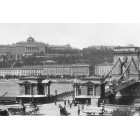 Budapest - Chain bridge, photo 1898