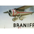 Braniff airways placard