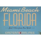 Miami beach placard