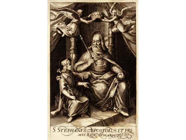 St. Stephen king, print 1664