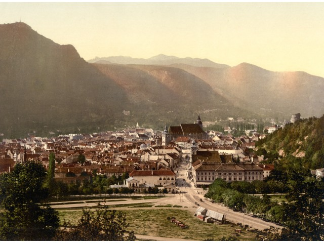 Brasov landscape, photo 1900