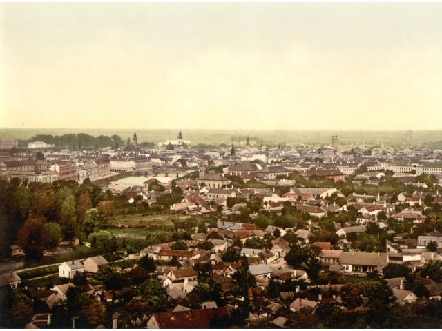 View of Nagyvárad, photo 1900