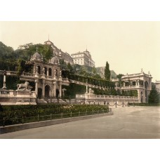 Budapest - castle garden photo 1900