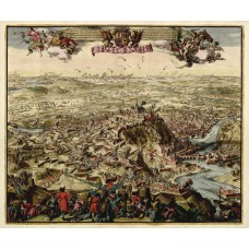 The siege of Namur 1709