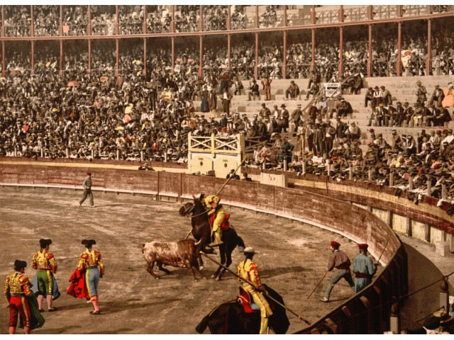 Spain, bullfight photo 1900 (2)