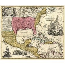 Map of America 1759