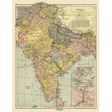 Map of India 1903