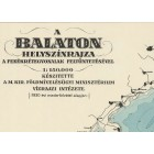 Map of Balaton 1931