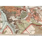Map of Budapest 1913