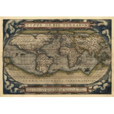 Map of World 1570