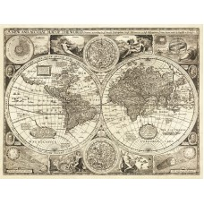 Map of World 1651