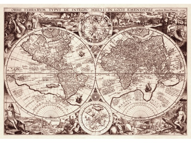 Map of World 1594