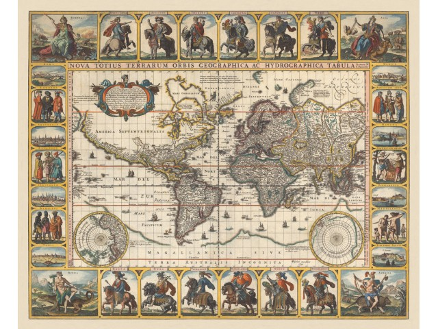 Map of World 1652