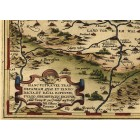 Map of Transylvania 1570