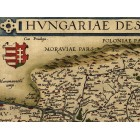 Map of Hungary 1570